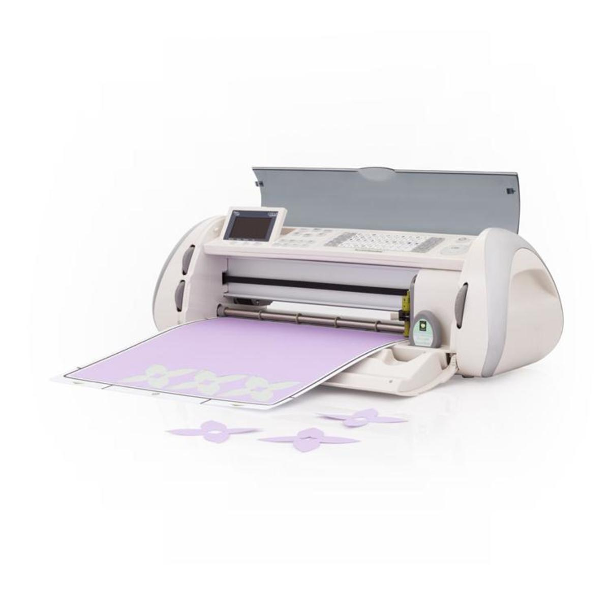 The Cricut Expression cutting machine is a versatile hobby and business tool.