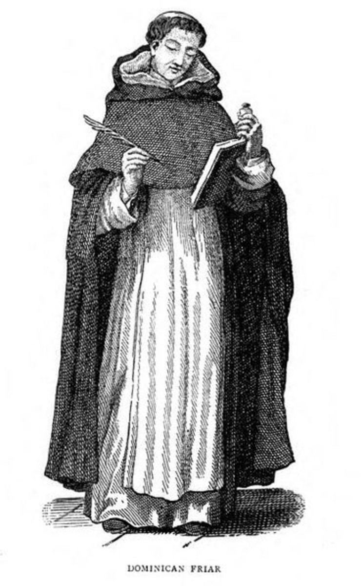 Dominican friar