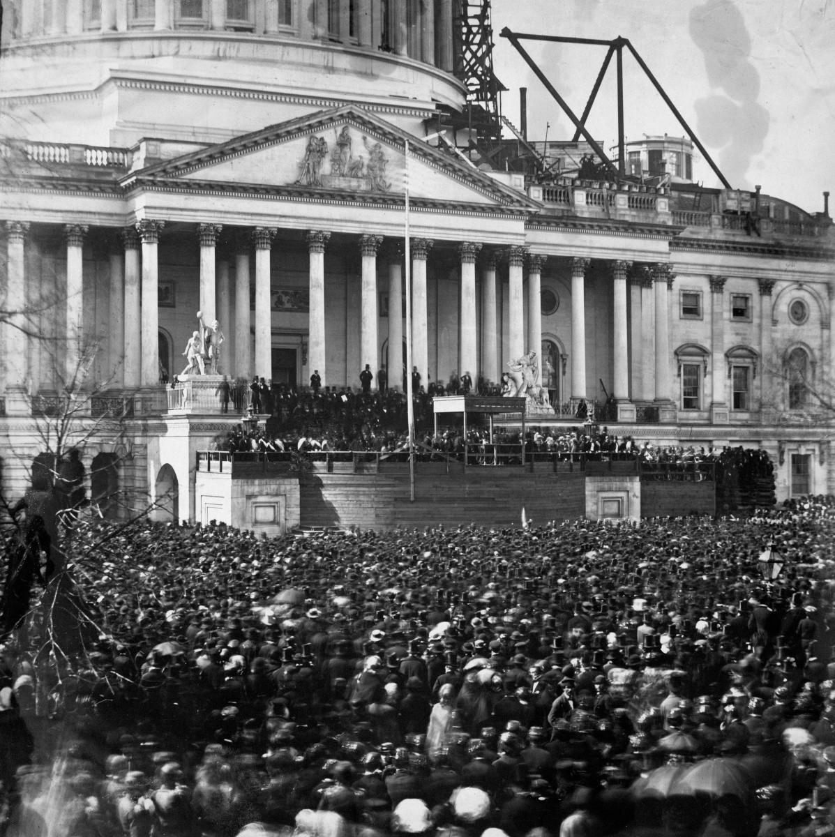 Lincoln Inauguration Mar 1861