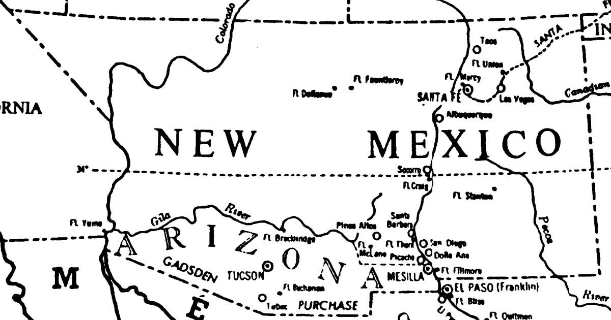 Secession of Southern New Mexico Territory
