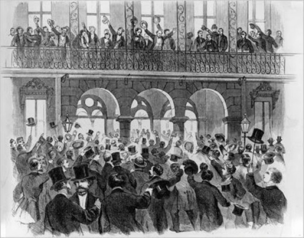 Sketch - South Carolina passes the Articles of Secession