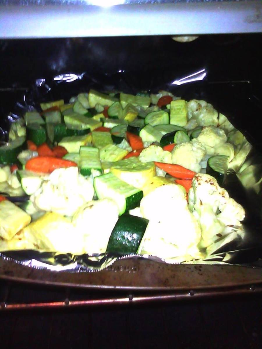 Roast your veggies