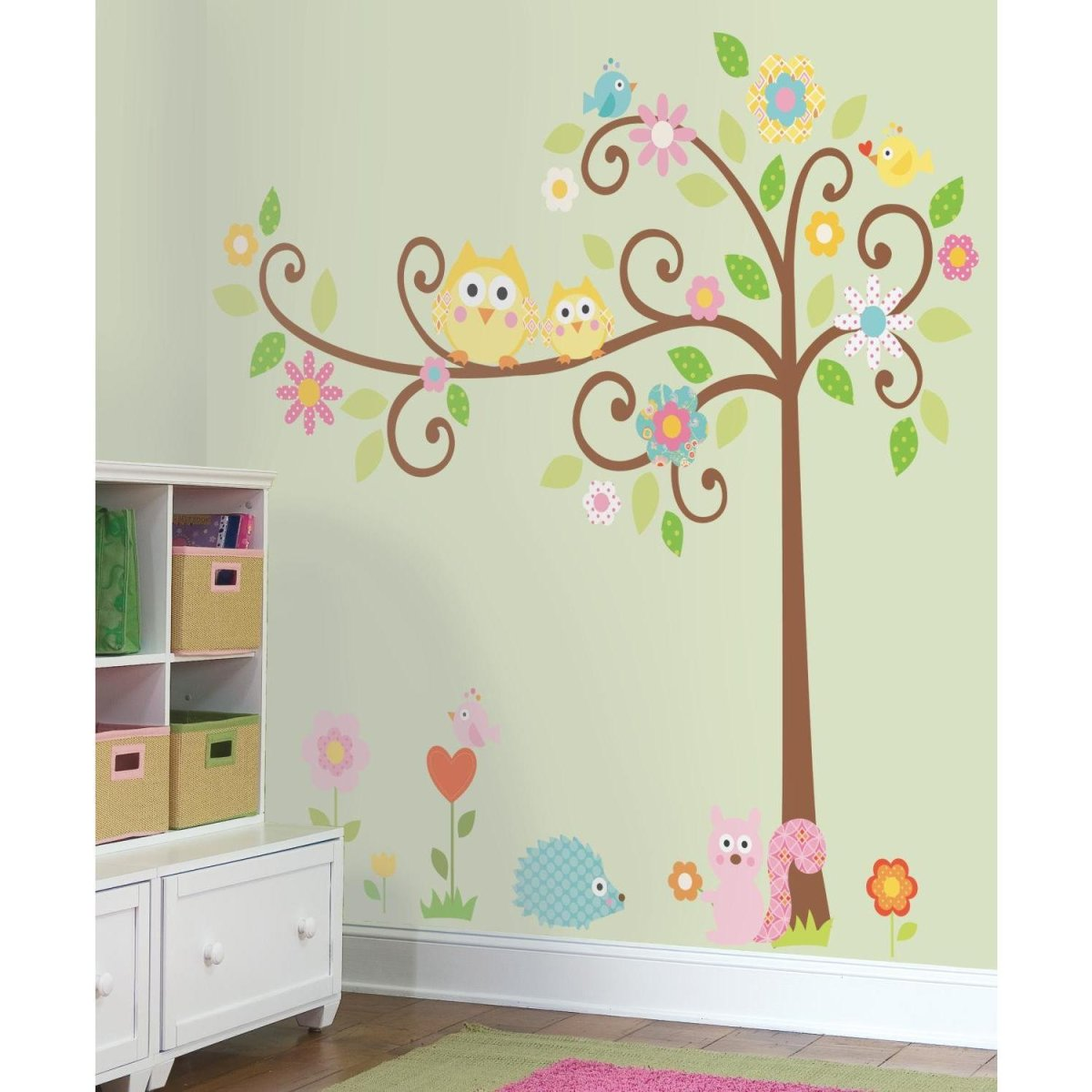 Baby Girl's Nursery Room Decor for Bedding