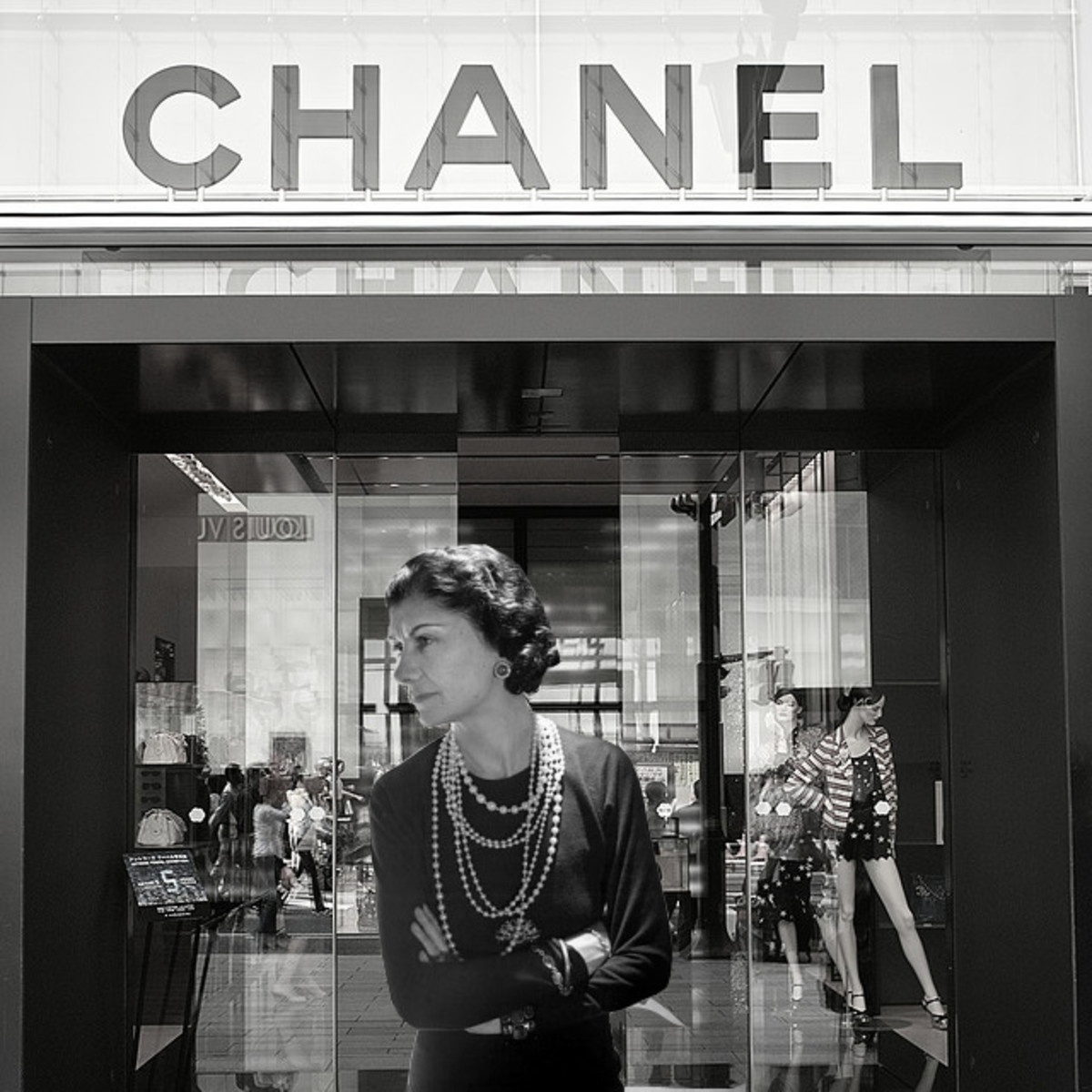 The House of Chanel at  31 rue Cambon in Paris, France.