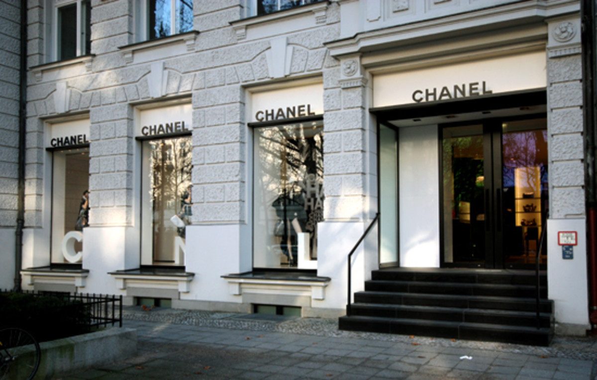 The House of Chanel, Paris, France.