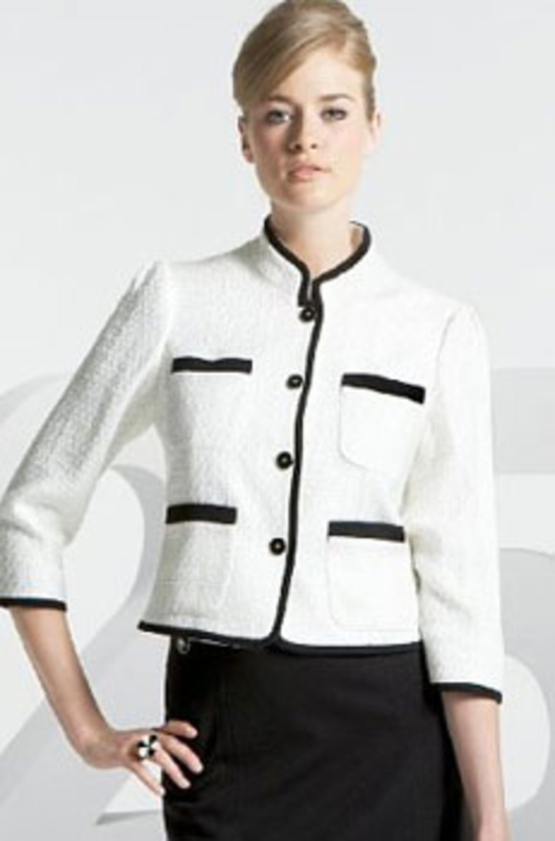 The Chanel suit of today.