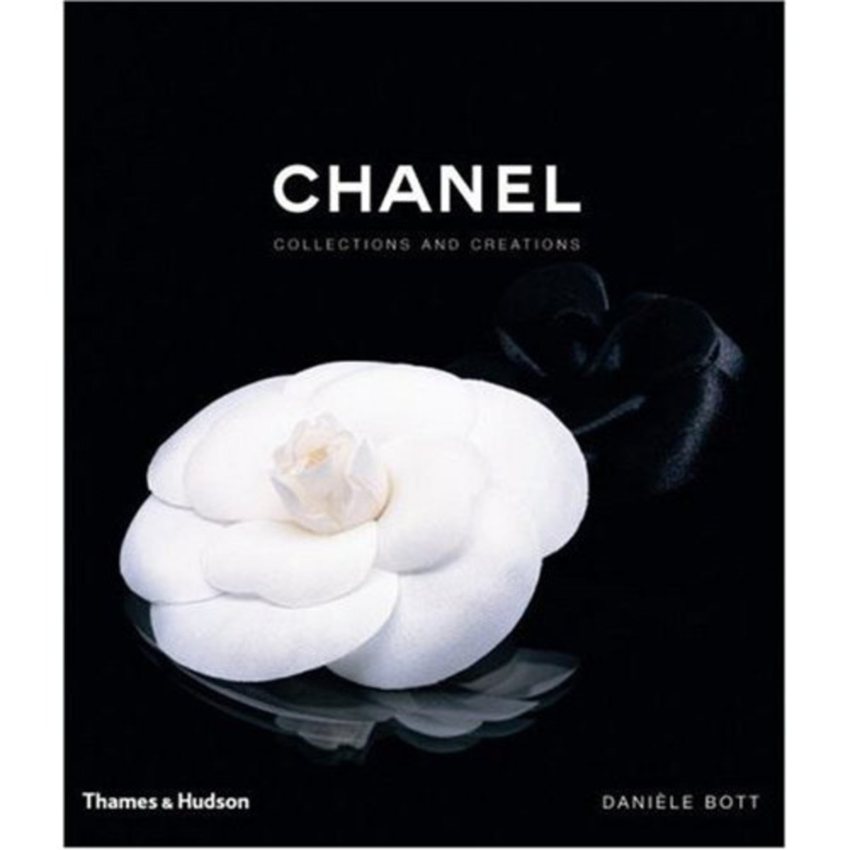 The camillia flower became a symbol of the House of Chanel, and Coco Chanel wore them many times on her 'little black dress.'