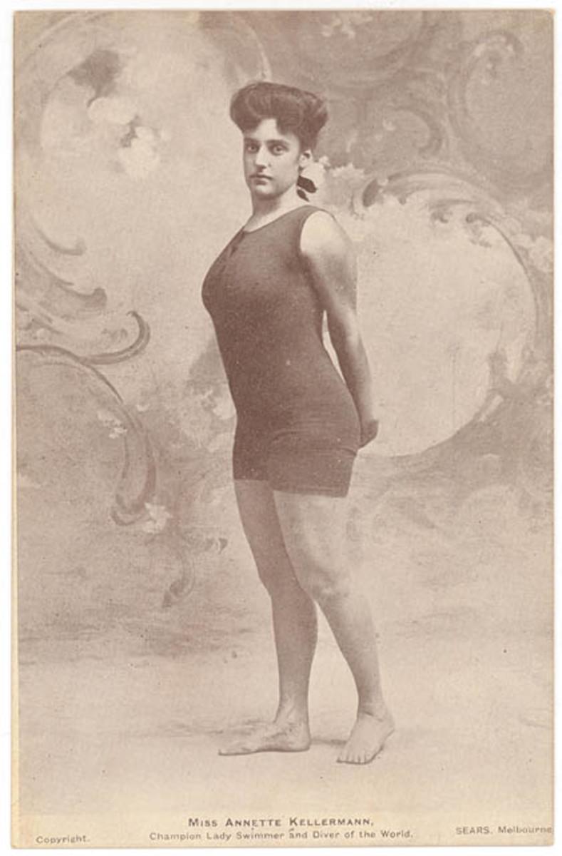 Annette Kellerman in Her Revealing Swimwear
