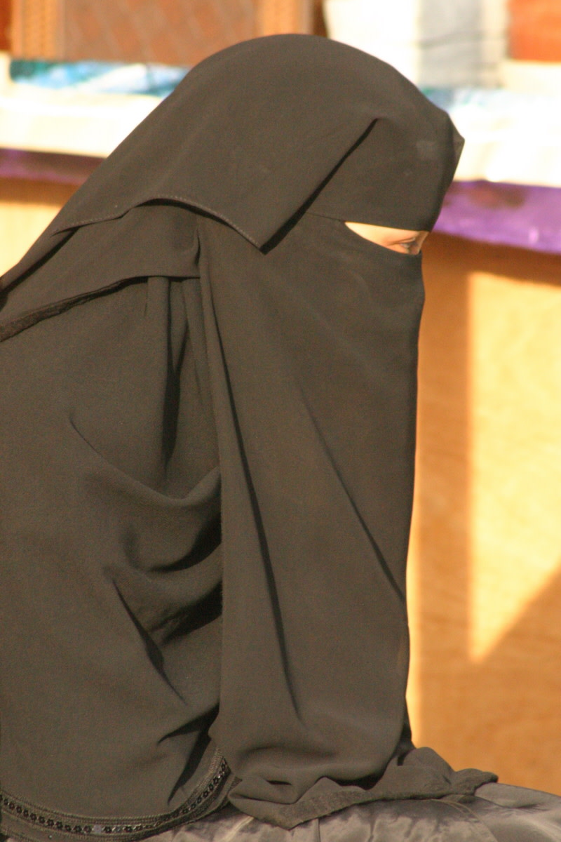 The niqab has been outlawed in France.