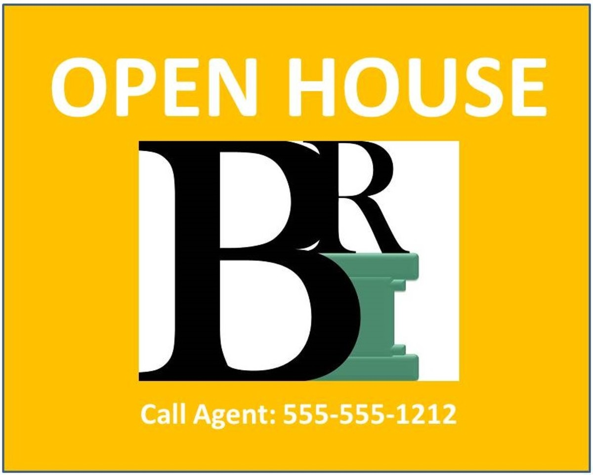 Open houses can be dangerous to your health.