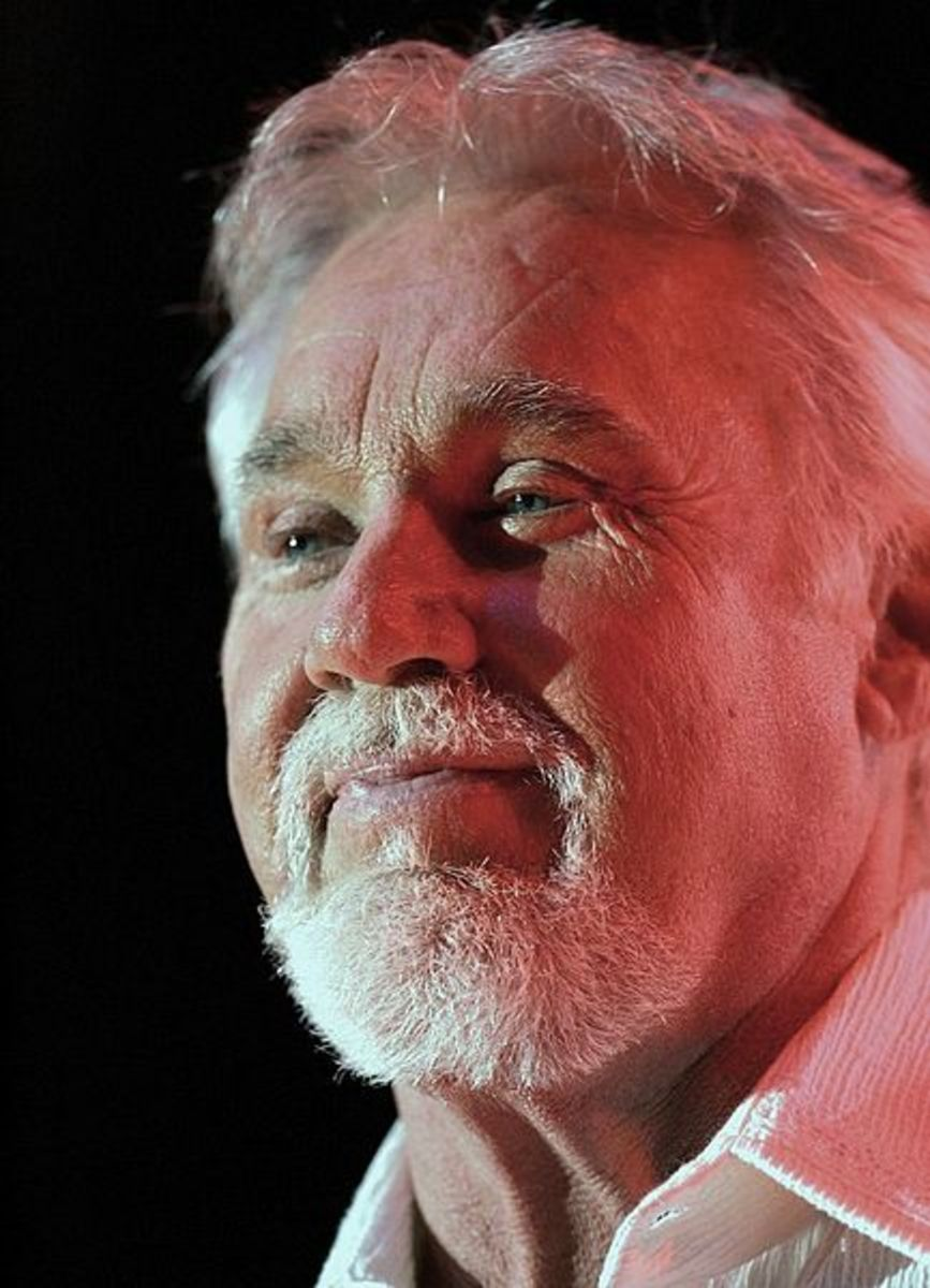 Kenny Rogers, concert, Chumash Casino Resort hall, Santa Ynez, California, September 27, 2006.