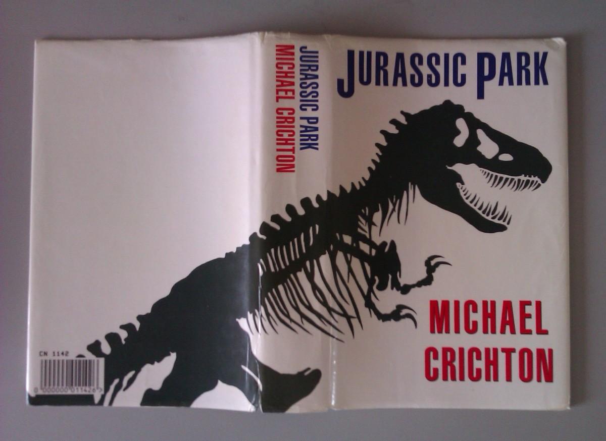 Jurassic Park Dustcover