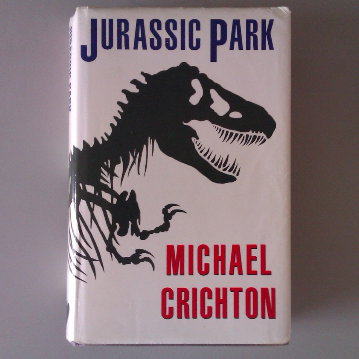My Slightly Battered Copy of 'Jurassic Park'