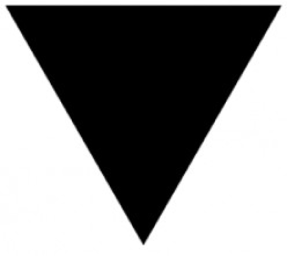 Black triangle