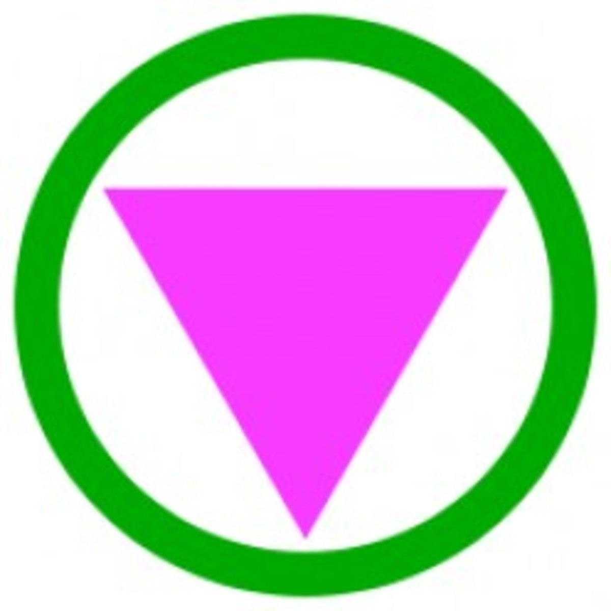 Straight ally and safe space symbol