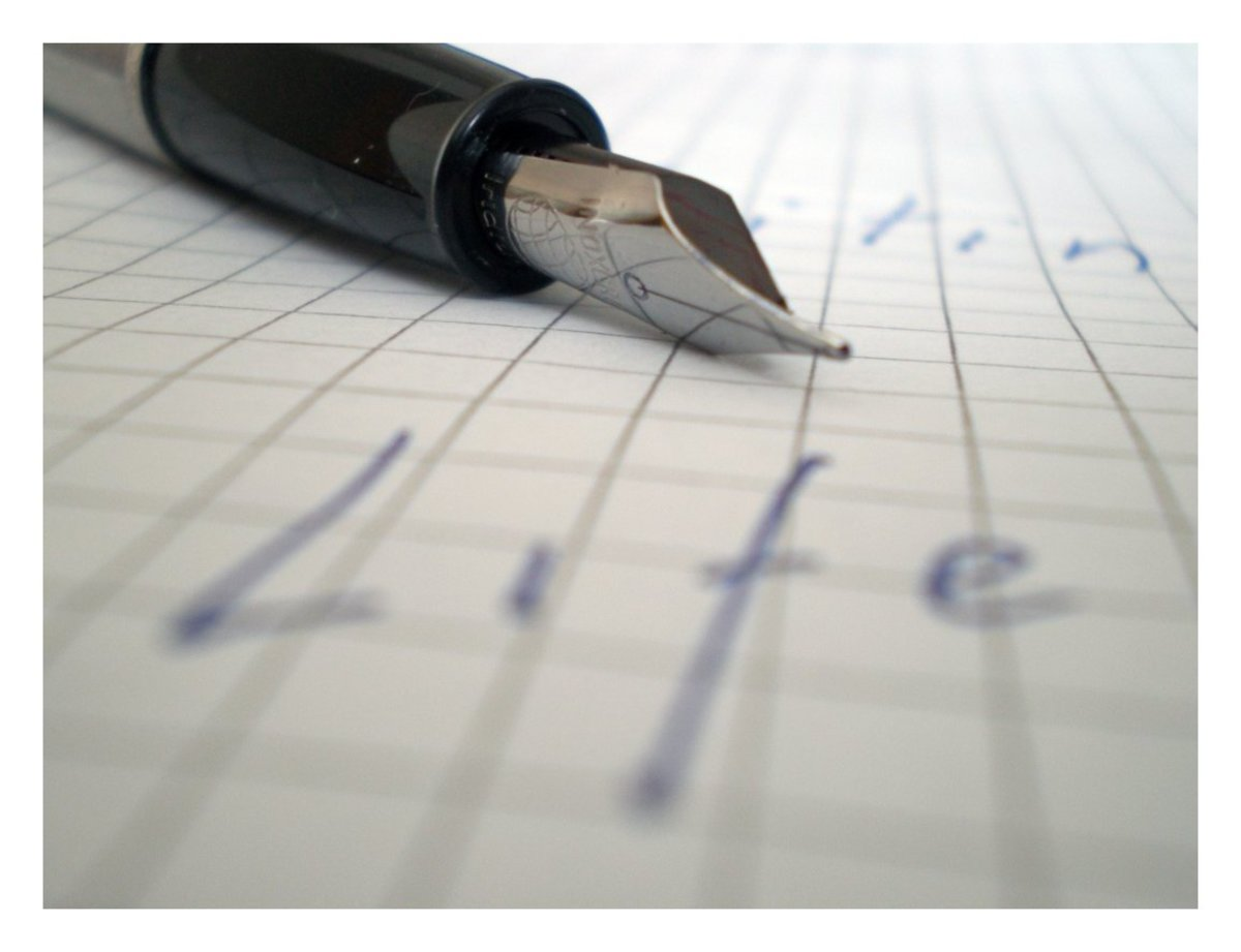 Write about passions in order to maintain interest in the subject.