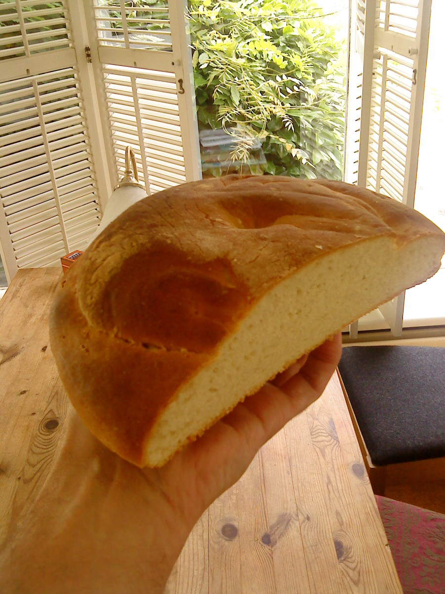 White Cottage Loaf