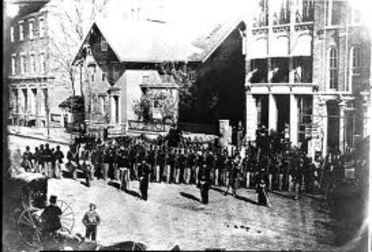 A Company from the 127th Regiment, Ohio Volunteers