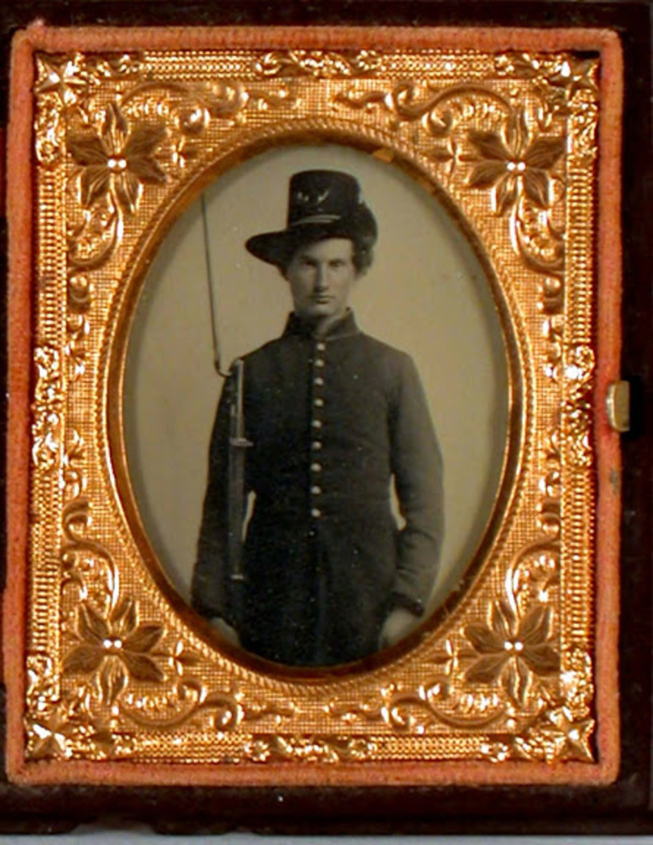 Private William Chase, 6th Regiment Vermont Volunteers