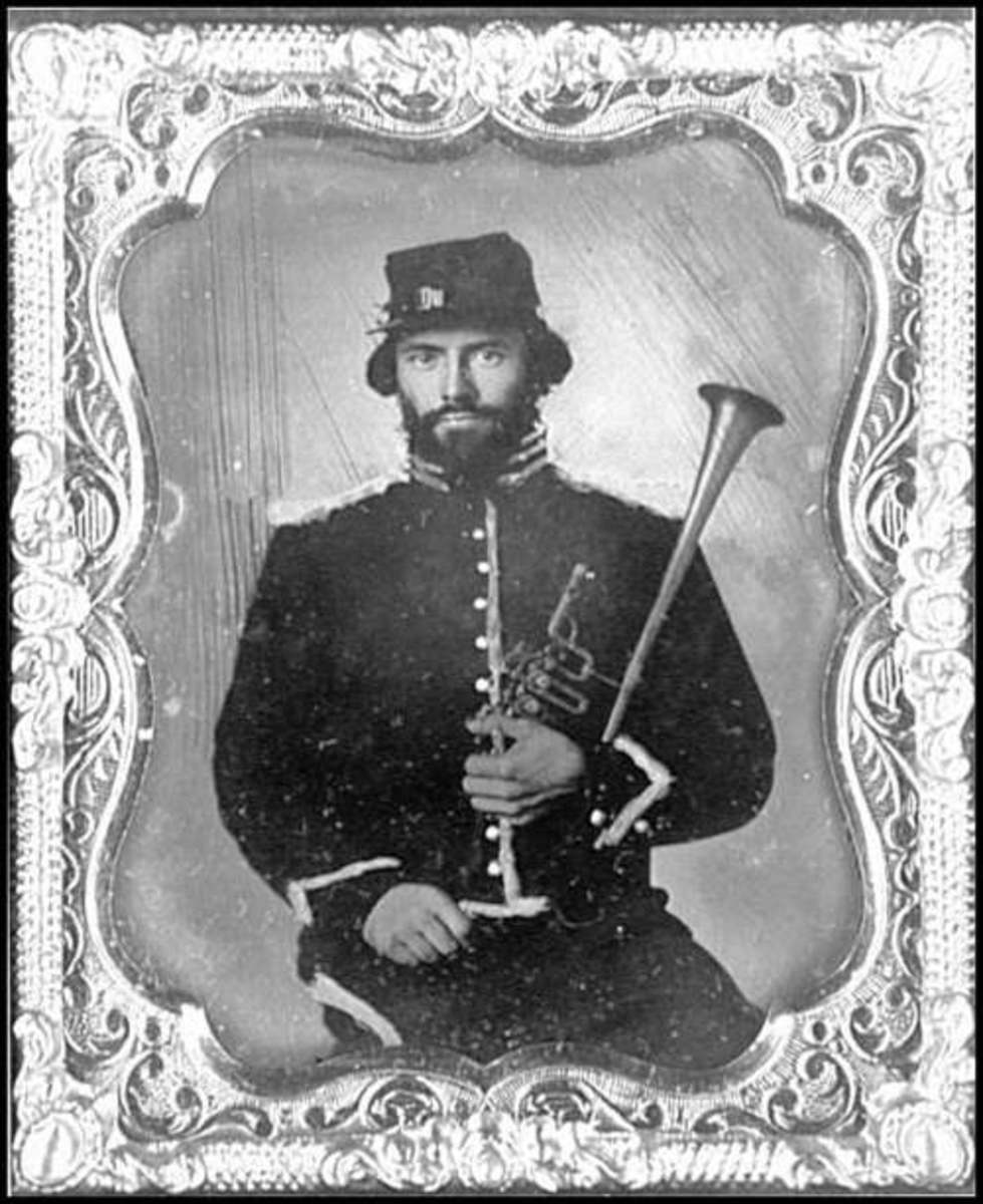Field Musician of the 2nd Regiment, U.S. Regulars