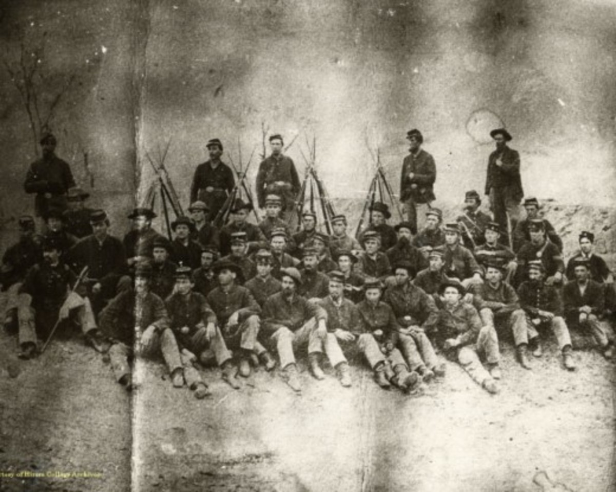 A Company from the 42nd Regiment, Ohio Volunteers