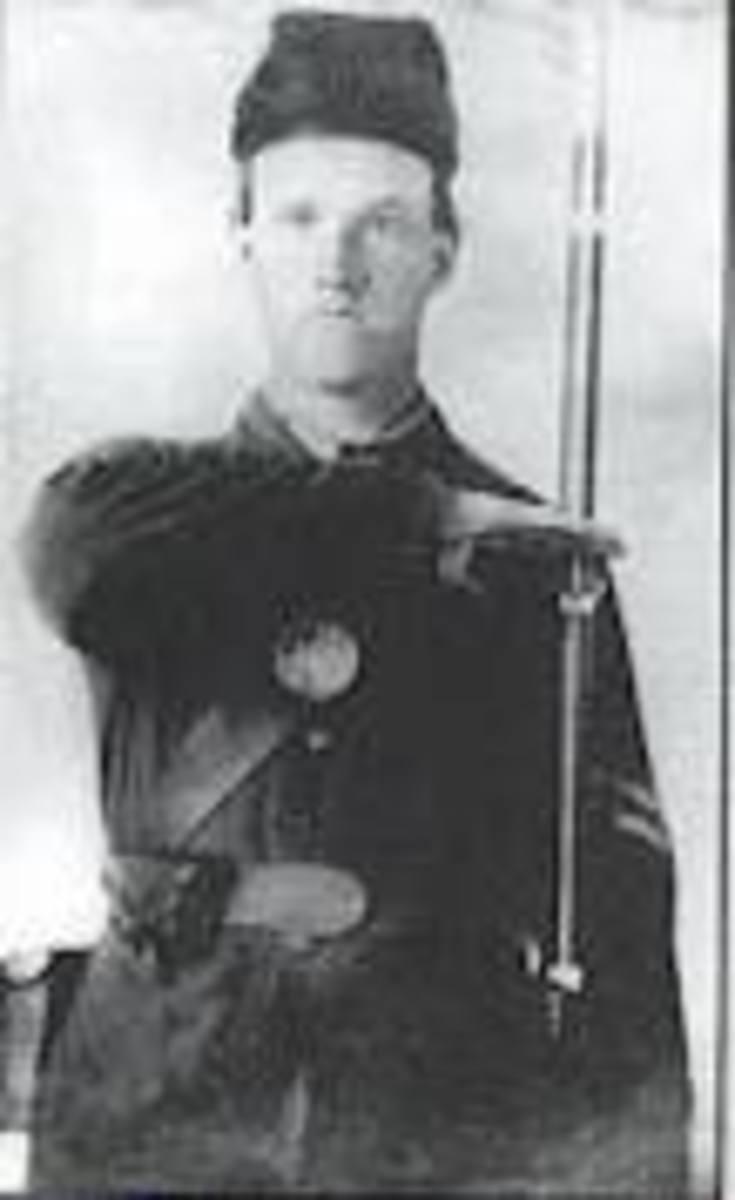 Volunteer for the 21st Regiment, Kentucky Volunteers
