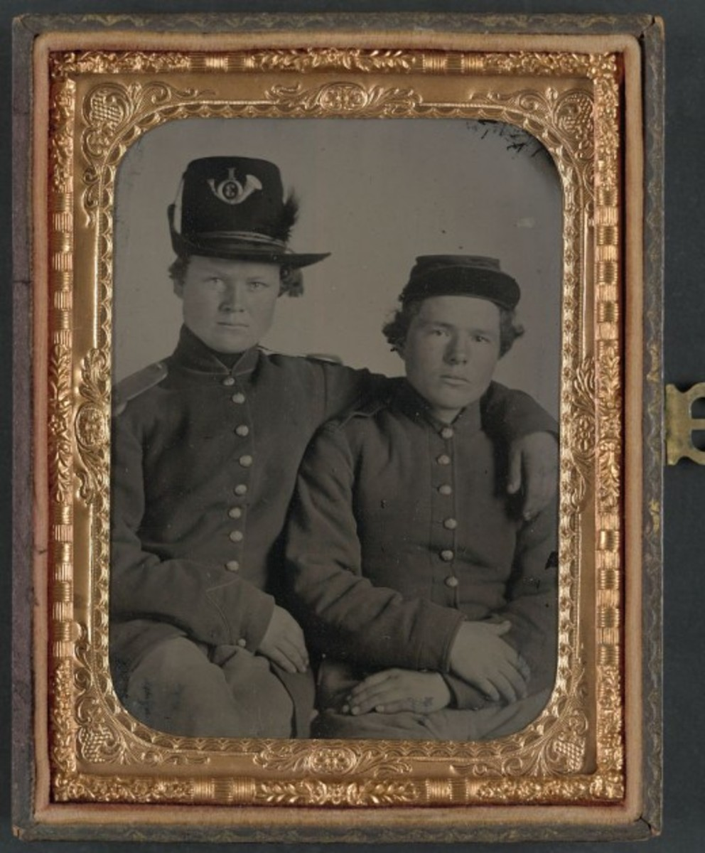 The Gripman Brothers, Hiram and William, Union Volunteers