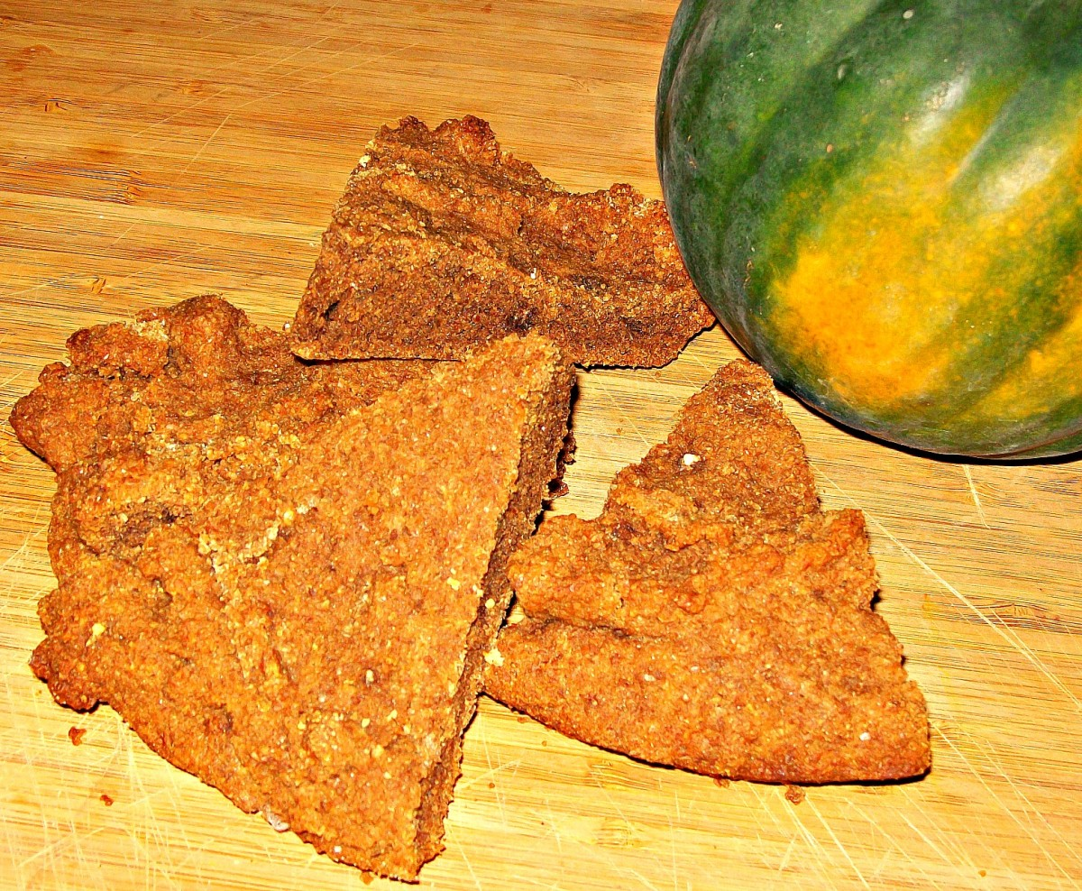 Acorn bread with squash