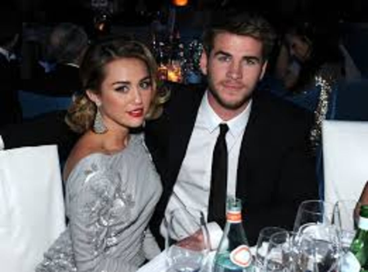 Miley and Liam Hensworth
