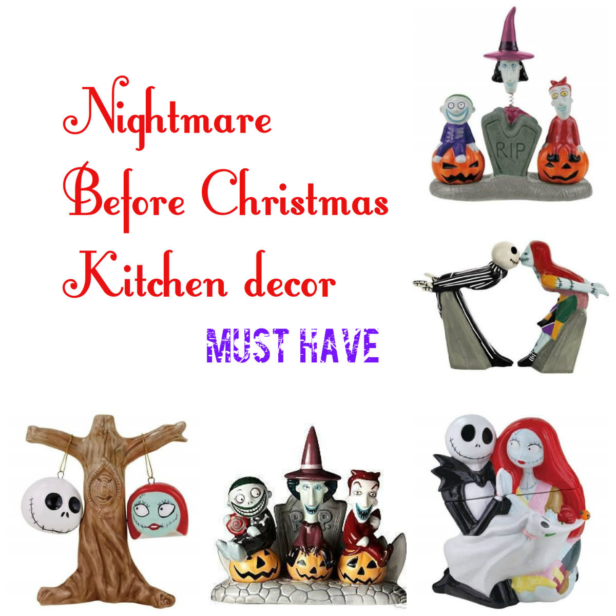 Nightmare Before Christmas Kitchen Accessories and Décor
