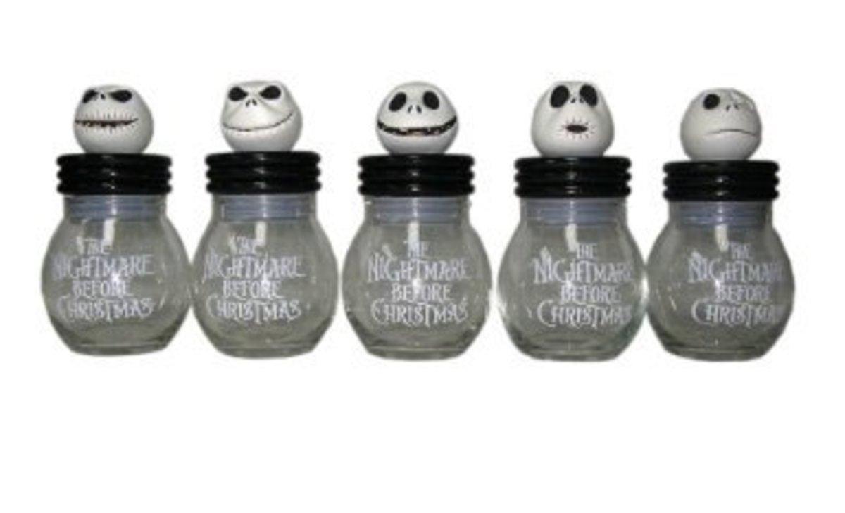 Neca Nightmare Before Christmas Ceramic inches Jack inches Storage Jars
