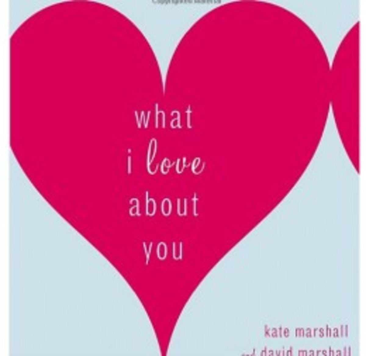 'What I Love About You' Book Cover