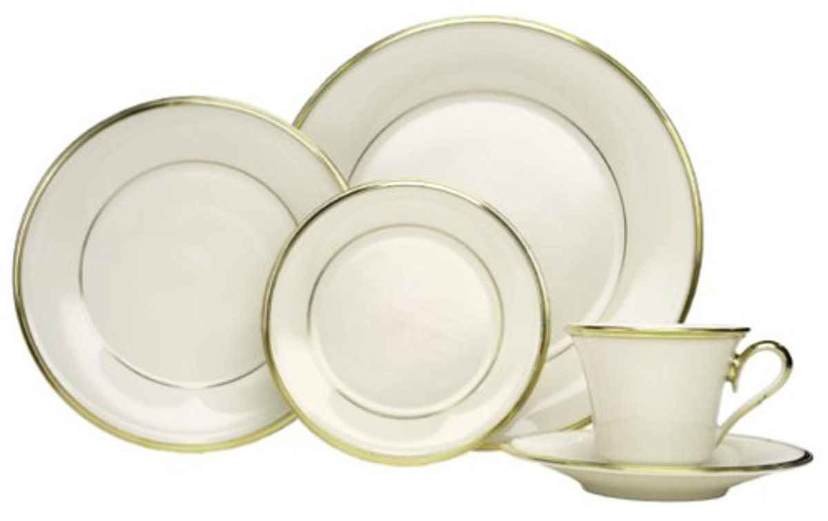 'Eternal' China Pattern Place Setting from Lenox