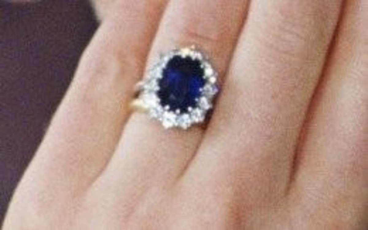 Kate Middleton's Engagement Ring Released by Buckingham Palace
