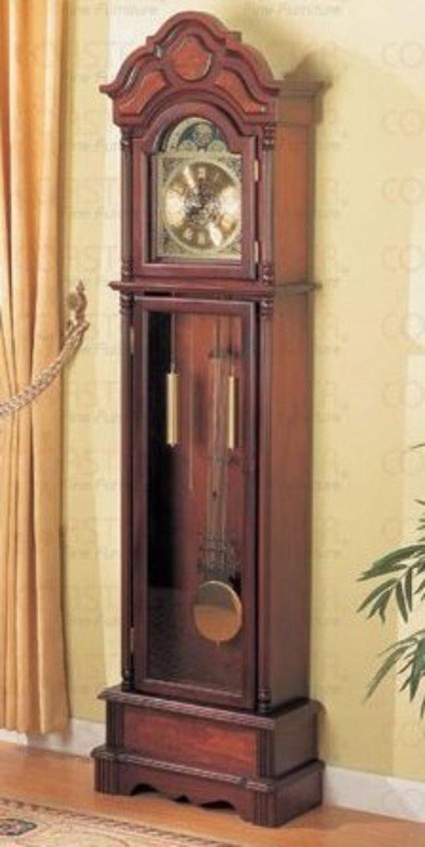 Grandfather Floor Clock Anniversary Gift