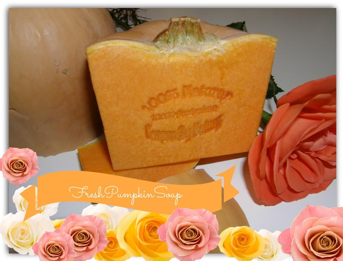 Nutrient Rich Pumpkin Soap