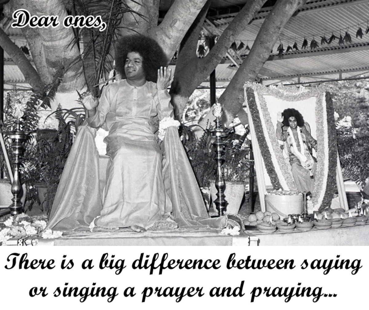 difference-between-saying-a-prayer