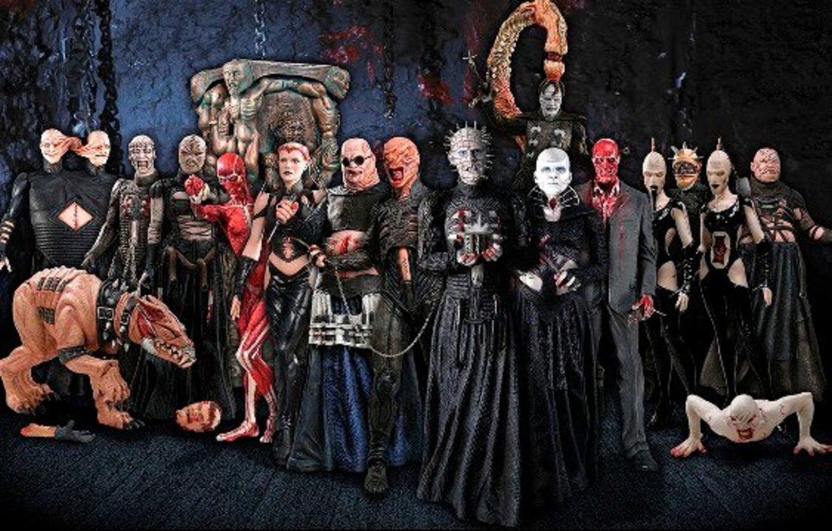Creatures of Hellraiser , List of Cenobites