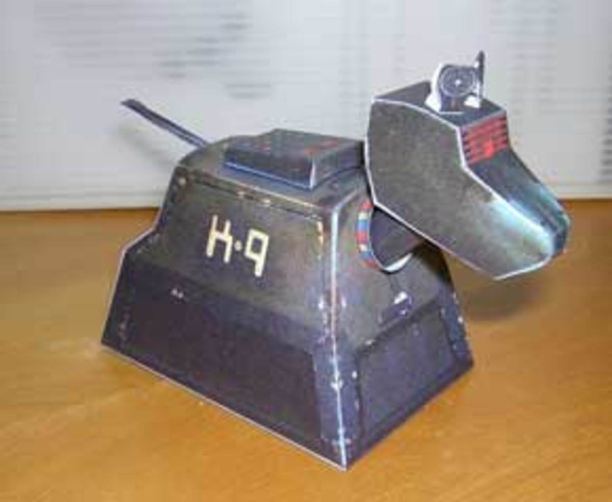 A Printable Pet For Doctor Who - Meet K-9