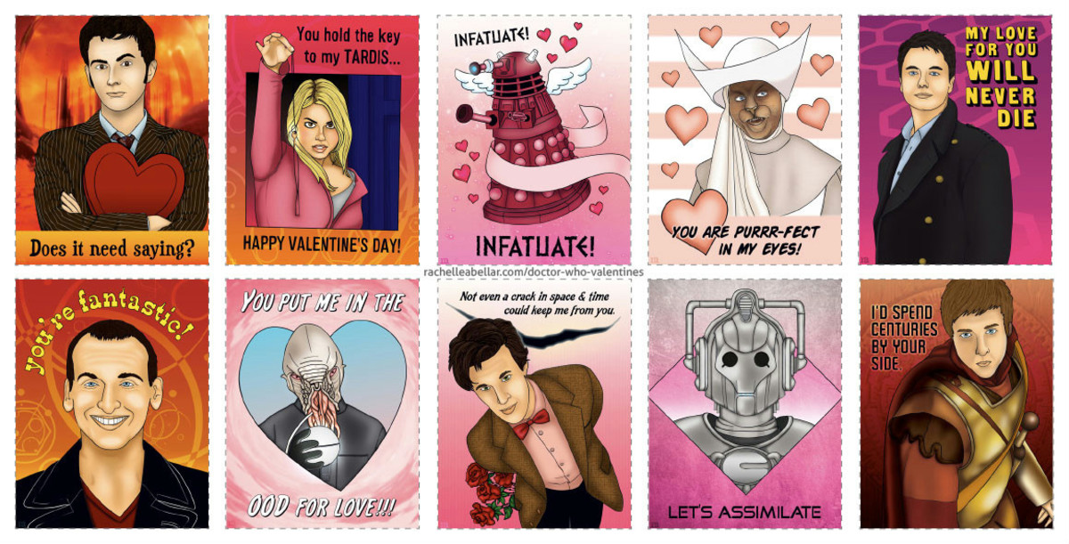 You can find these Valentine's Day Cards by clicking on the picture.  You will visit RachelleAbellar.com