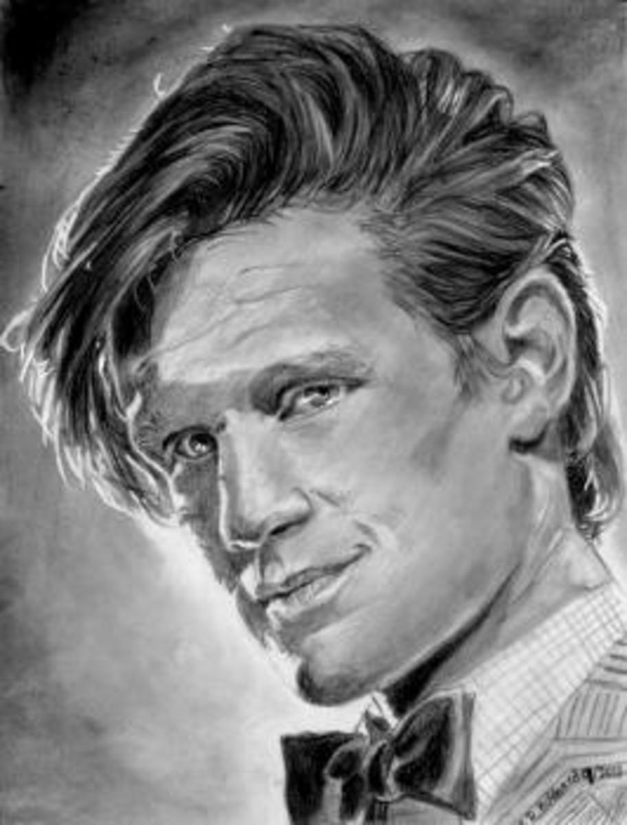 How To Draw The Doctor - It's The Eleventh Doctor