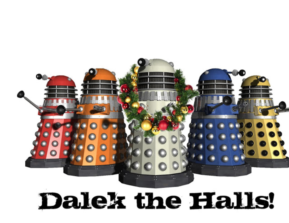 Printable Doctor Who Christmas Cards Are The Best!