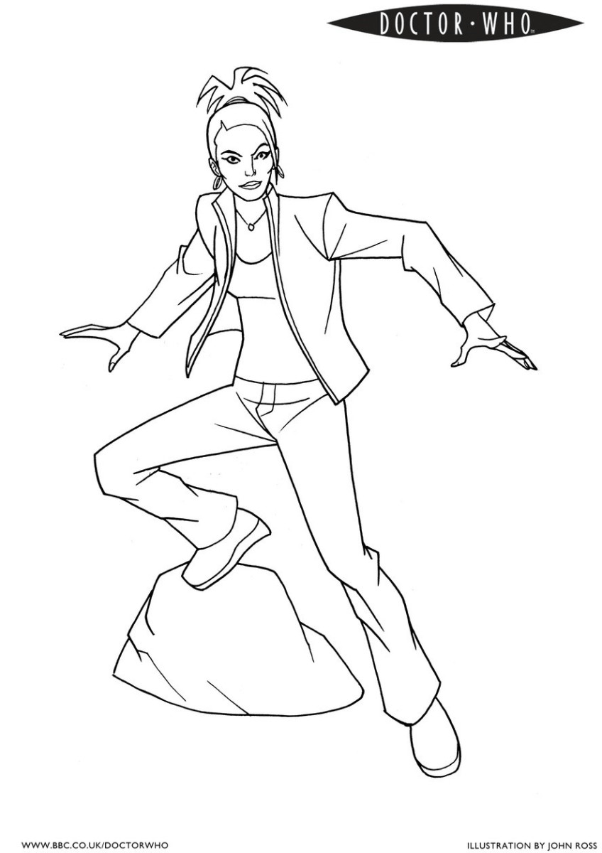 Whovians - Check Out The Many Coloring Pages You Can Print Out!