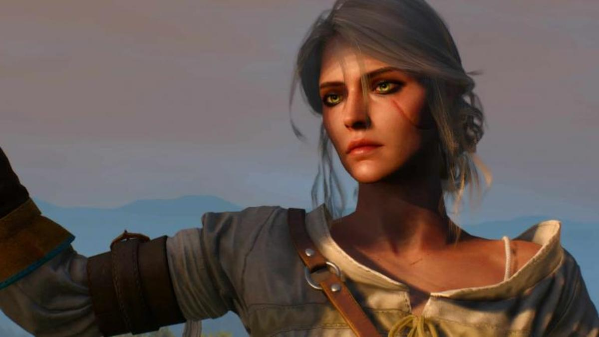Ciri as seen in The Witcher 3: Wild Hunt