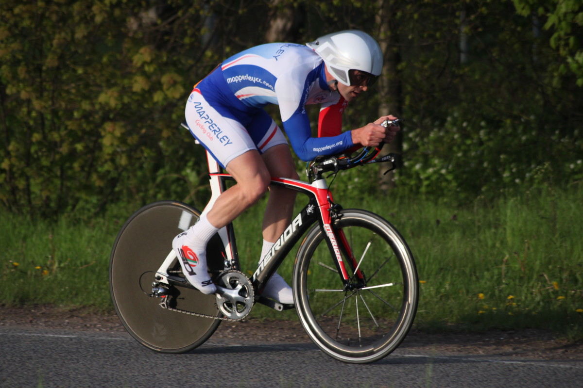 The competitive process is in place throughout the racing and training cycle of a time trial cyclist