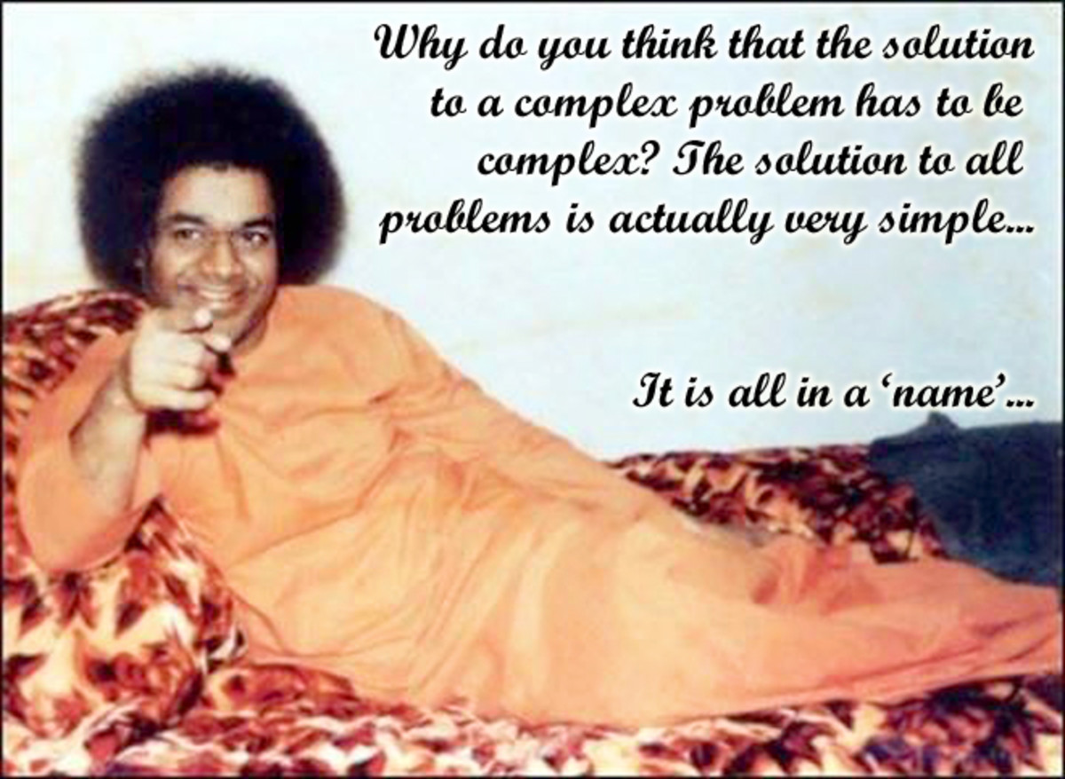 the-simple-and-single-solution-for-all-problems-sathya-sai-namasmarana