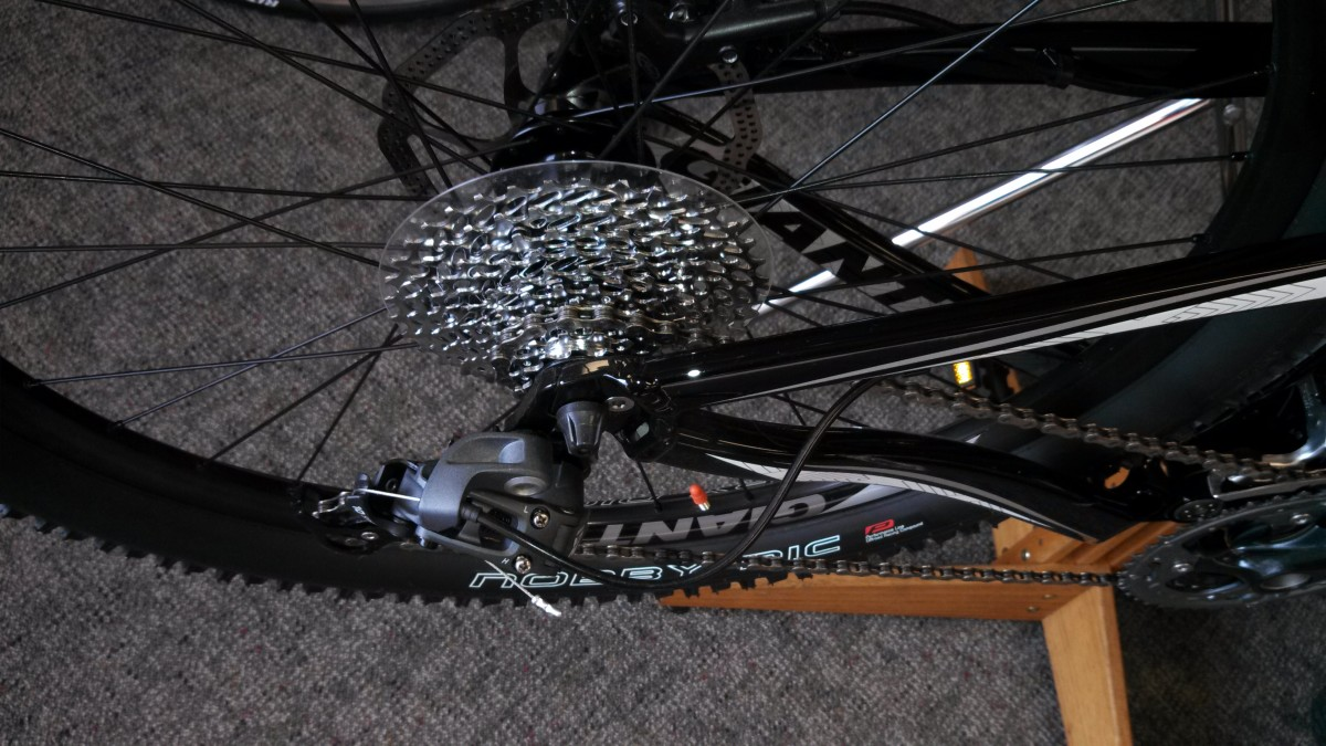 Mountain Bikes Have Low Gearing for Climbing