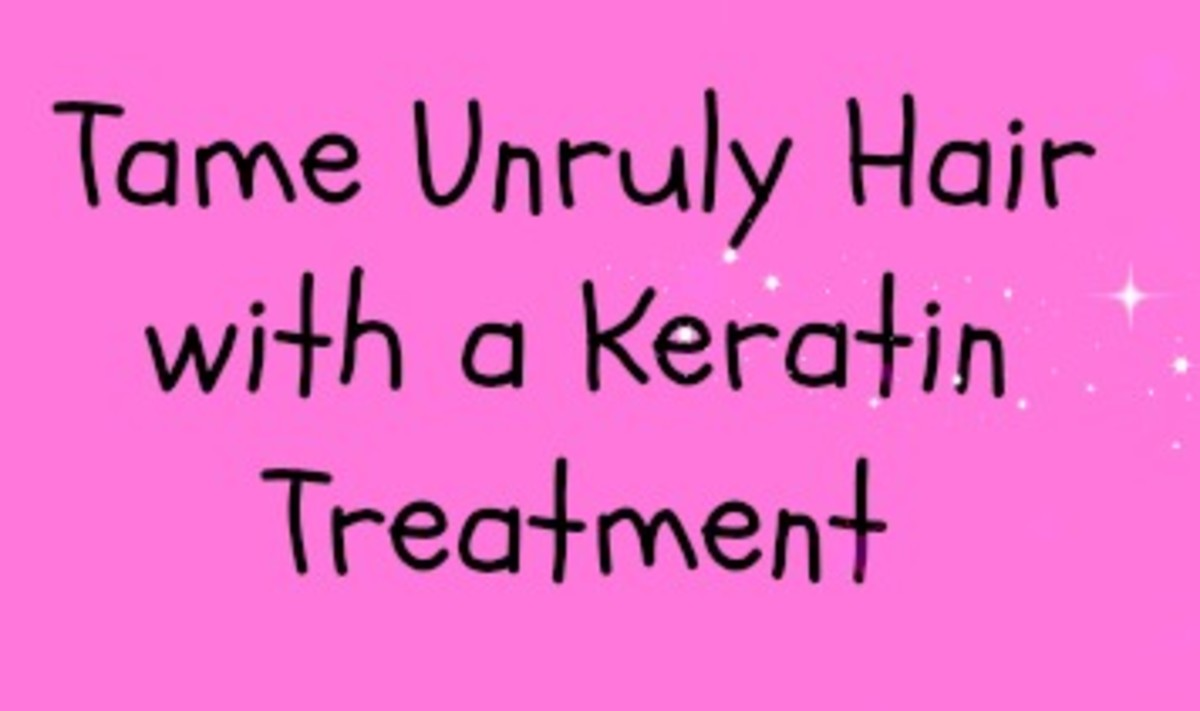 Tame Unruly Hair with a Keratin Treatment