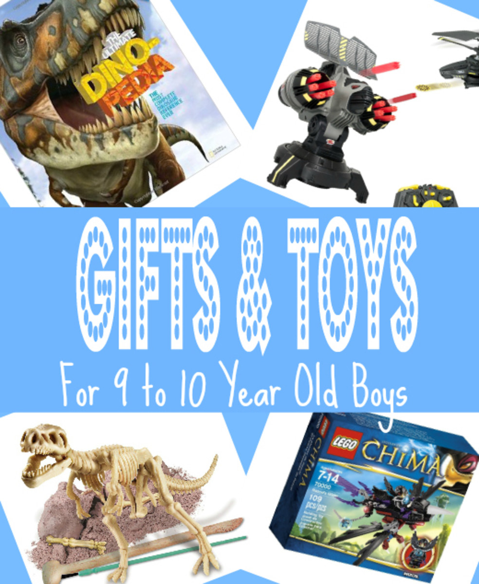 Top Gifts & Toys for 9 to 10 Year Old Boys