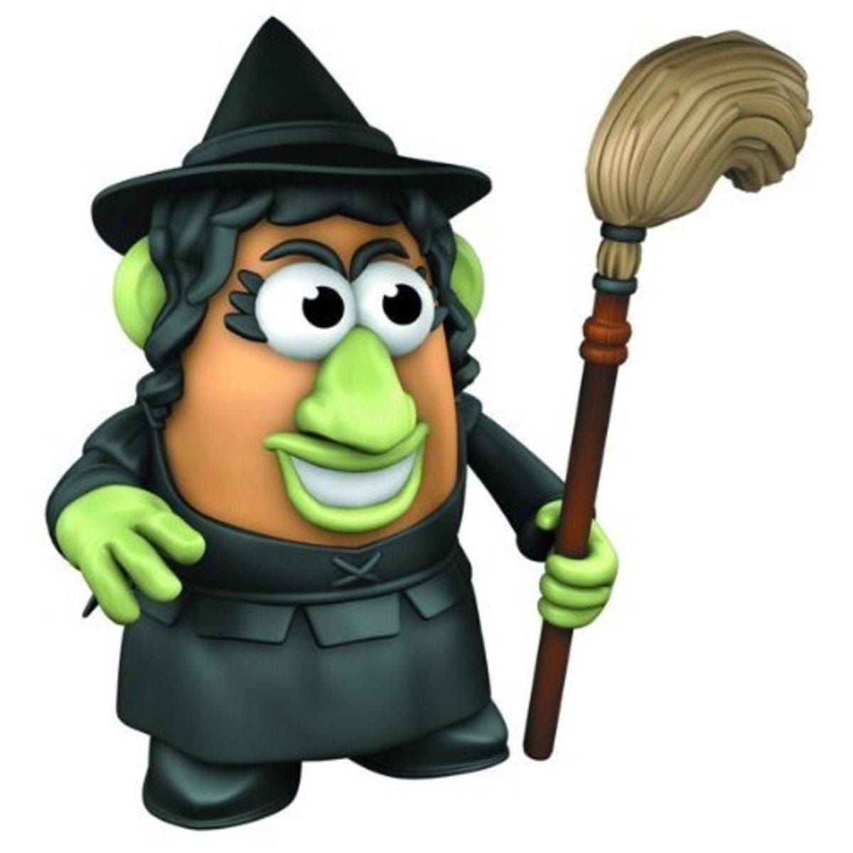 The Wizard of Oz Wicked Witch Mrs. Potato Head